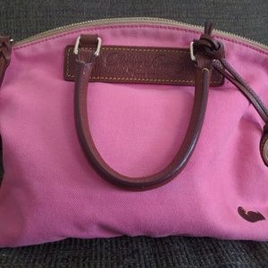 Dooney & Bourke pink Crossbody/ Shoulder bag.